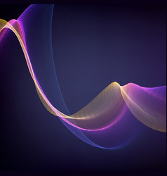 Abstract violet flame mesh vector