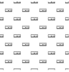 Automatic conditioner pattern seamless vector