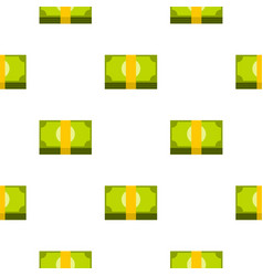 bundle of money pattern seamless vector image