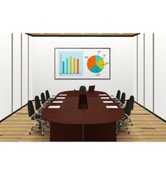 Conference Room Light Interior vector