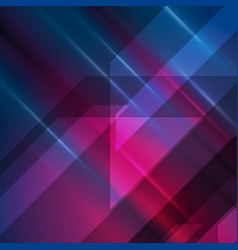dark blue and purple glowing hi-tech abstract vector image