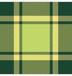 Green ireland plaid seamless pattern vector
