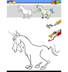 Kindergarten task for kids vector