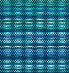 Melange knitted seamless pattern vector
