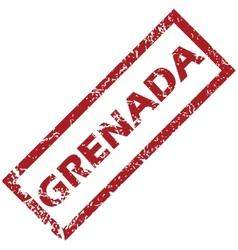New Grenada rubber stamp vector image