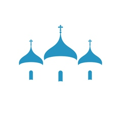 Russia Orthodox church Christianity vector