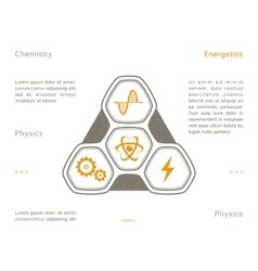 Science icons space technology vector