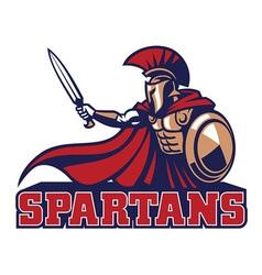 Spartan mascot vector