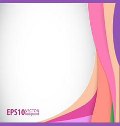 Abstract background for your presentations and vector image vector image