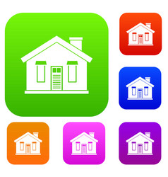 house set collection vector image