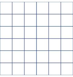 Navy blue grid white background vector