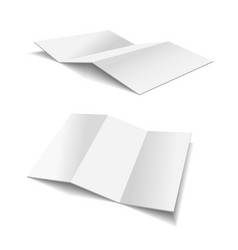 Folded Paper vector image vector image