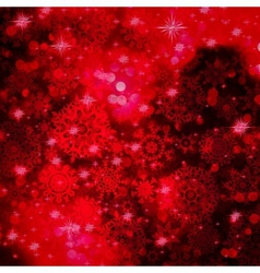 Red Christmas background in elegant style EPS 10 vector image vector image