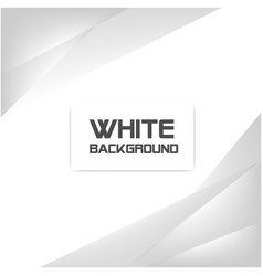 abstract white gray color white background vector image
