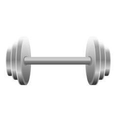 dumbell icon cartoon style vector image