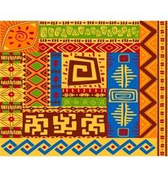 Ethnic patterns vector