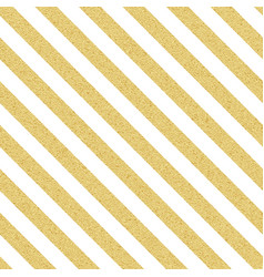 Gold glittery seamless stripes lines pattern on vector