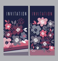 luxury concept floral pattern vector image