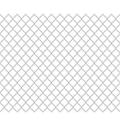 Old metal mesh steel fence seamless vector