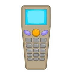 Remote control tool icon cartoon style vector