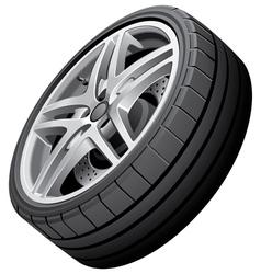 Sports wheel vector image