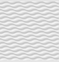 white seamless patterntexture of abstract waves vector image