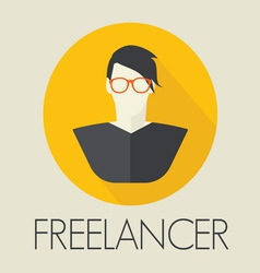 freelance2 resize vector image vector image