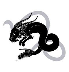 capricorn zodiac horoscope astrology sign vector image