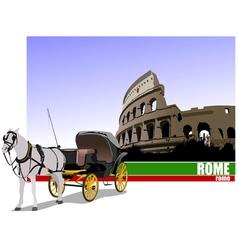 6229 rome trip vector