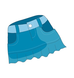 A view of skirt vector
