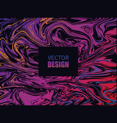 abstract colorful liquid background vector image