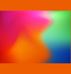 Abstract concept multicolored blur background vector