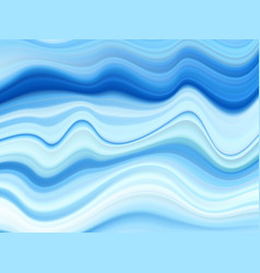 abstract wave acrylic background blue wavy vector image