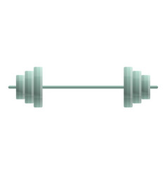 heavy barbell icon cartoon style vector image