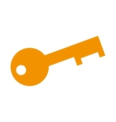 old key security vector image