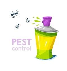 Pest control concept design vector