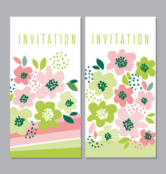 tender concept floral pattern vector image