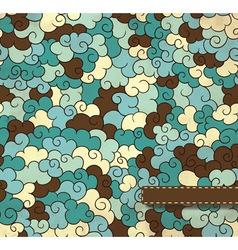 Astract seamless pattern vector image vector image