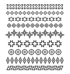 Ornaments 02 vector image vector image