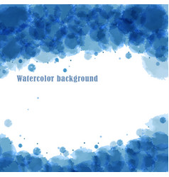 Imitation of watercolor stains vector