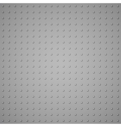 The texture from raised dots imitation metal vector image
