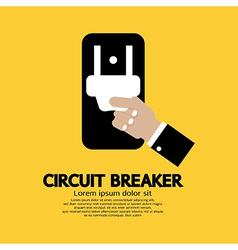 Circuit Breaker vector