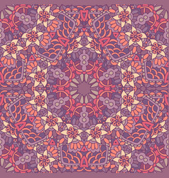 cute doodle seamless abstract tiled pattern vector image