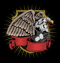 eagle veterans america usa artwork vector image