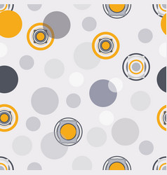 Gold and grey geometric seamless pattern vector