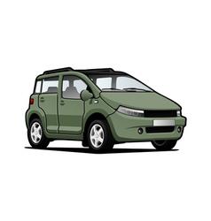 micro car vector image