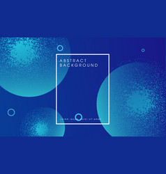 modern blue abstract particle background design vector image