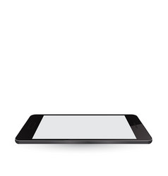 Modern realistic smartphone with blank screen vector