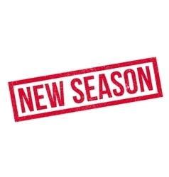 New Season rubber stamp vector