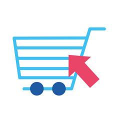Online buying ecommerce vector